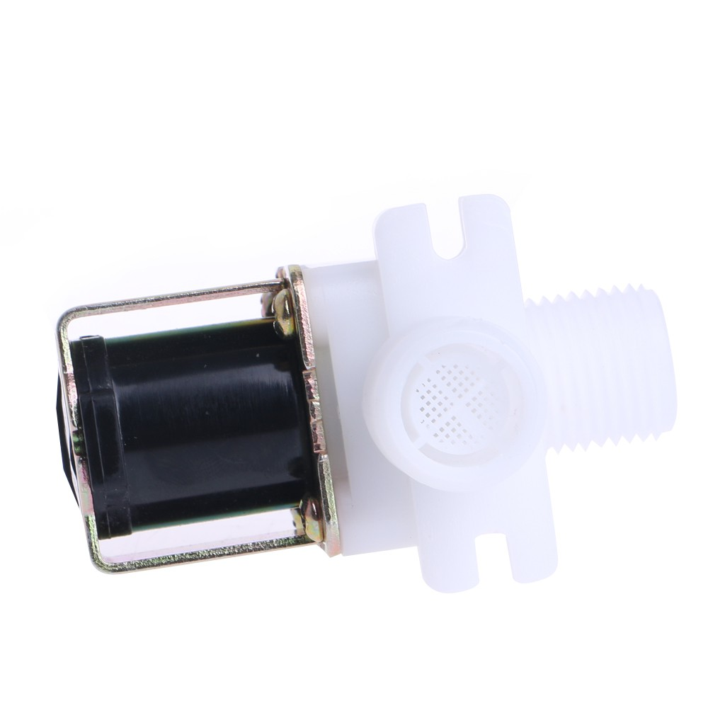 """AC220V 1//2/"""" N//C Magnetic Electric Solenoid Valve Water Air Inlet Flow Switch"""