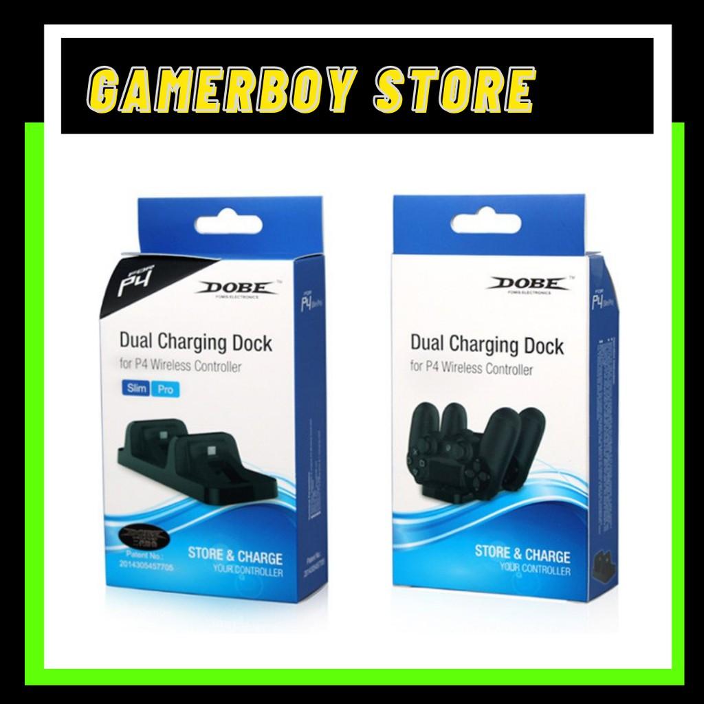 PS4 DOBE TP4 002 Dual Charging Dock for Dualshock 4