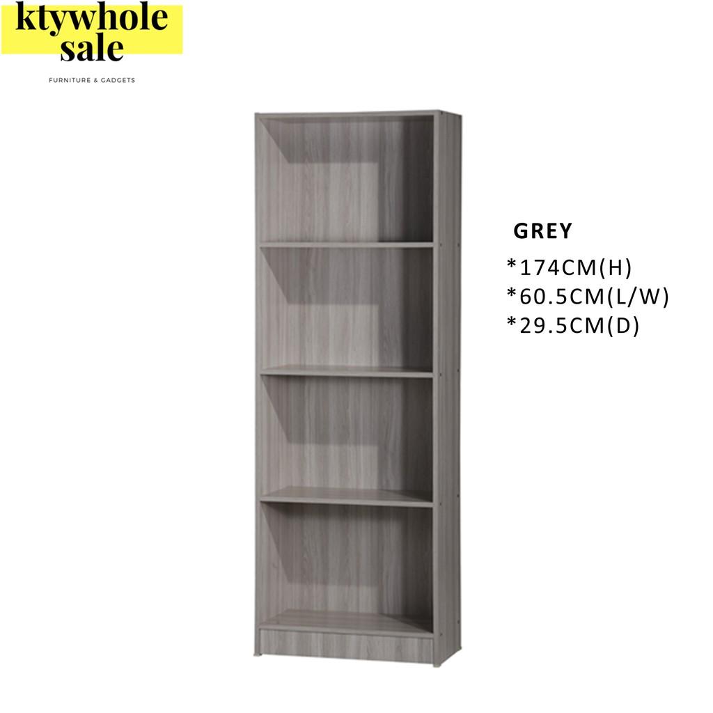 4-Tier Multipurpose Storage Cabinet/ File Cabinet/ Decoration Rack/Rak Buku/Rak Simpanan/摆设柜 书橱 储物柜 衣橱 (SU 800)