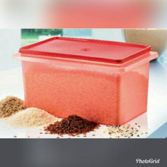 Harga RUNTUH!!!! Ready Stock!!!! Tupperware Rice Keeper 5Kg