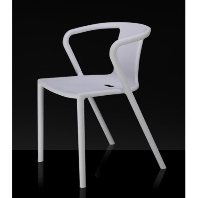 150KG Static Load Capacity Plastic Chair / Restaurant Chair