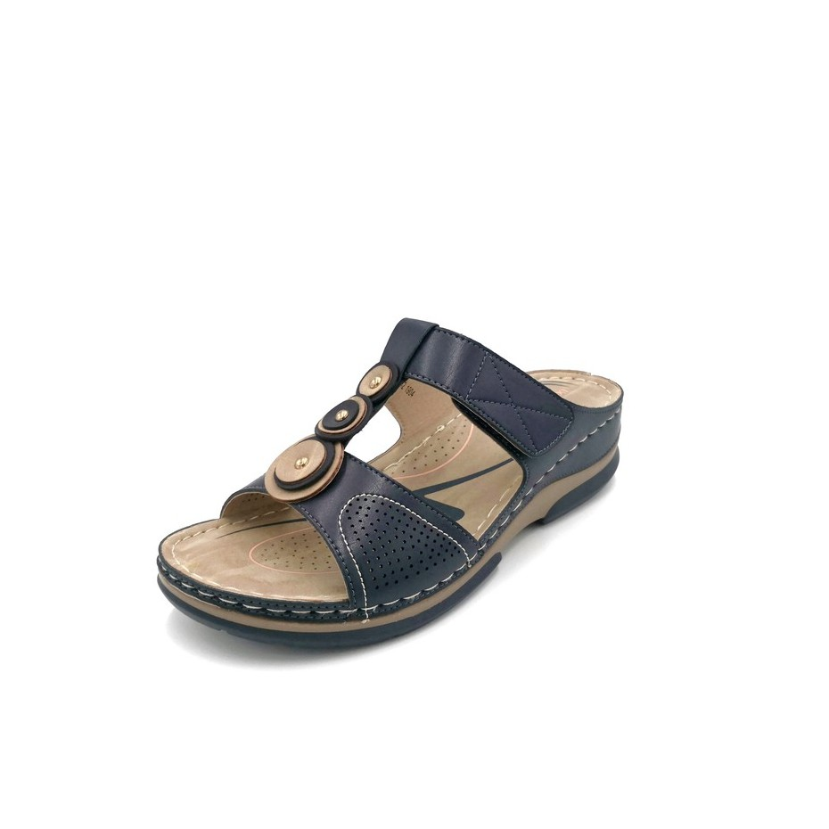 Yebeng new arrival ladies plus size comfort sandal hot selling(8605-2XL)