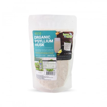 Love Earth Organic Psyllium Husk 250g 乐儿有机车前子壳 250公克 (袋装)