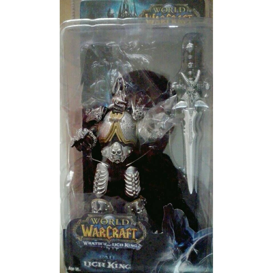 Game Character WOW Lich King Action Figure Fall Lich King Arthas Menethil 17 Toy