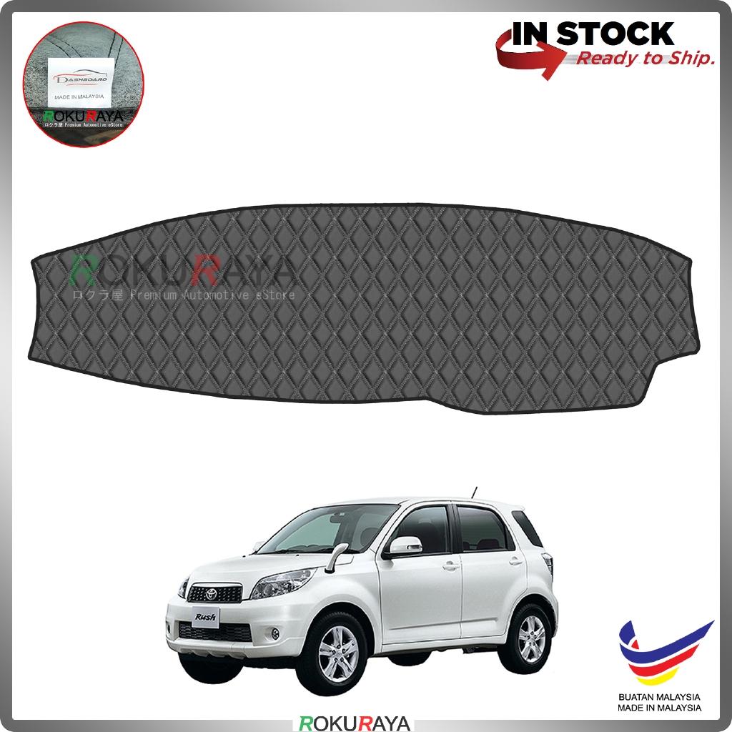 Toyota Rush 2008 RR Malaysia Custom Fit Dashboard Cover (BLACK LINE)