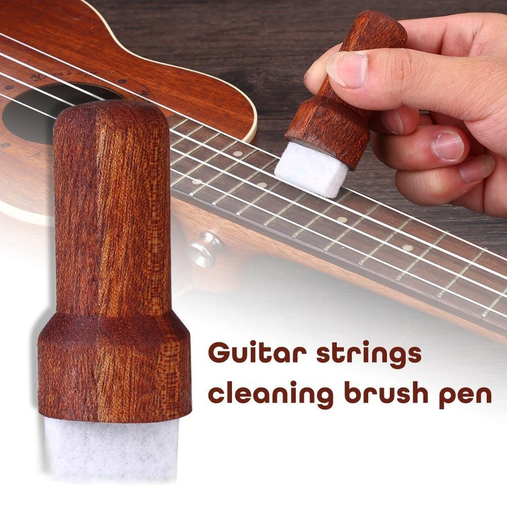 Musical Instruments Guitar String Fingerboard Wooden Derusting Antirust Cleaner Pen Brush Tool Pretty And Colorful