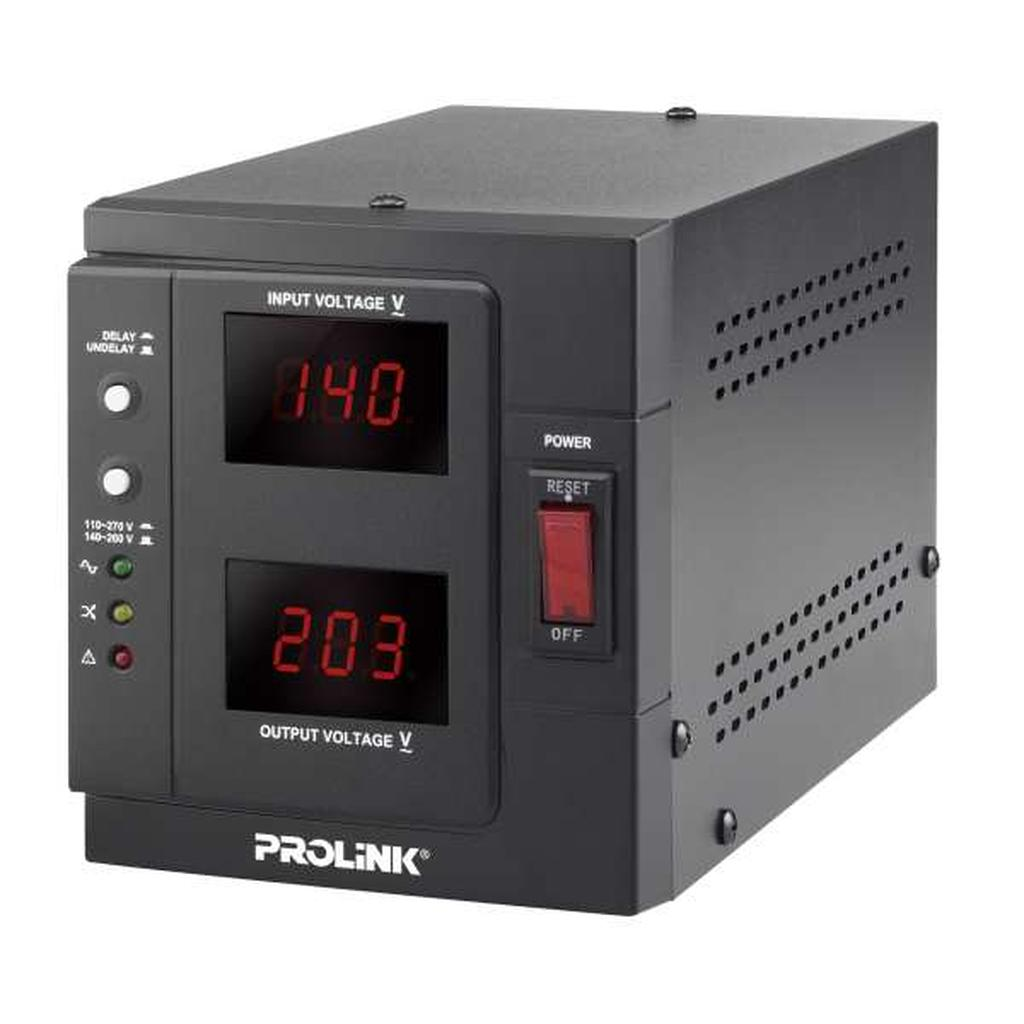 PROLiNK 1KVA / 800W Heavy Duty AVR Auto Voltage Stabilizer PVR1000D