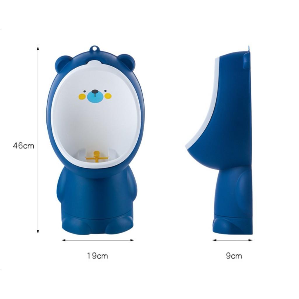 [ READY STOCK ]  Children Pot Cute Penguin Ajustable Height Baby Potty Training Seat Portable Toilet Jualan Murah Raya