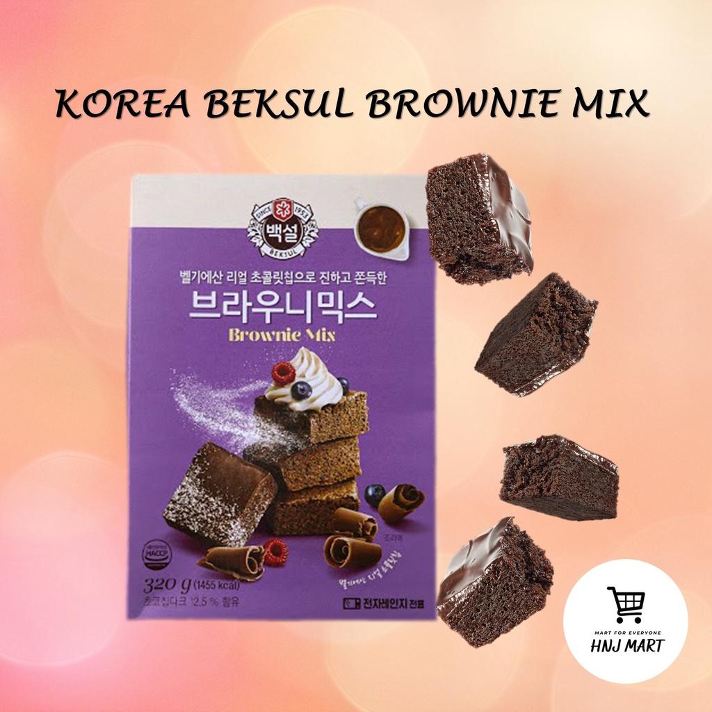 Korea Beksul Brownie Mix 320g / Brownie Powder Mix / Home Baking