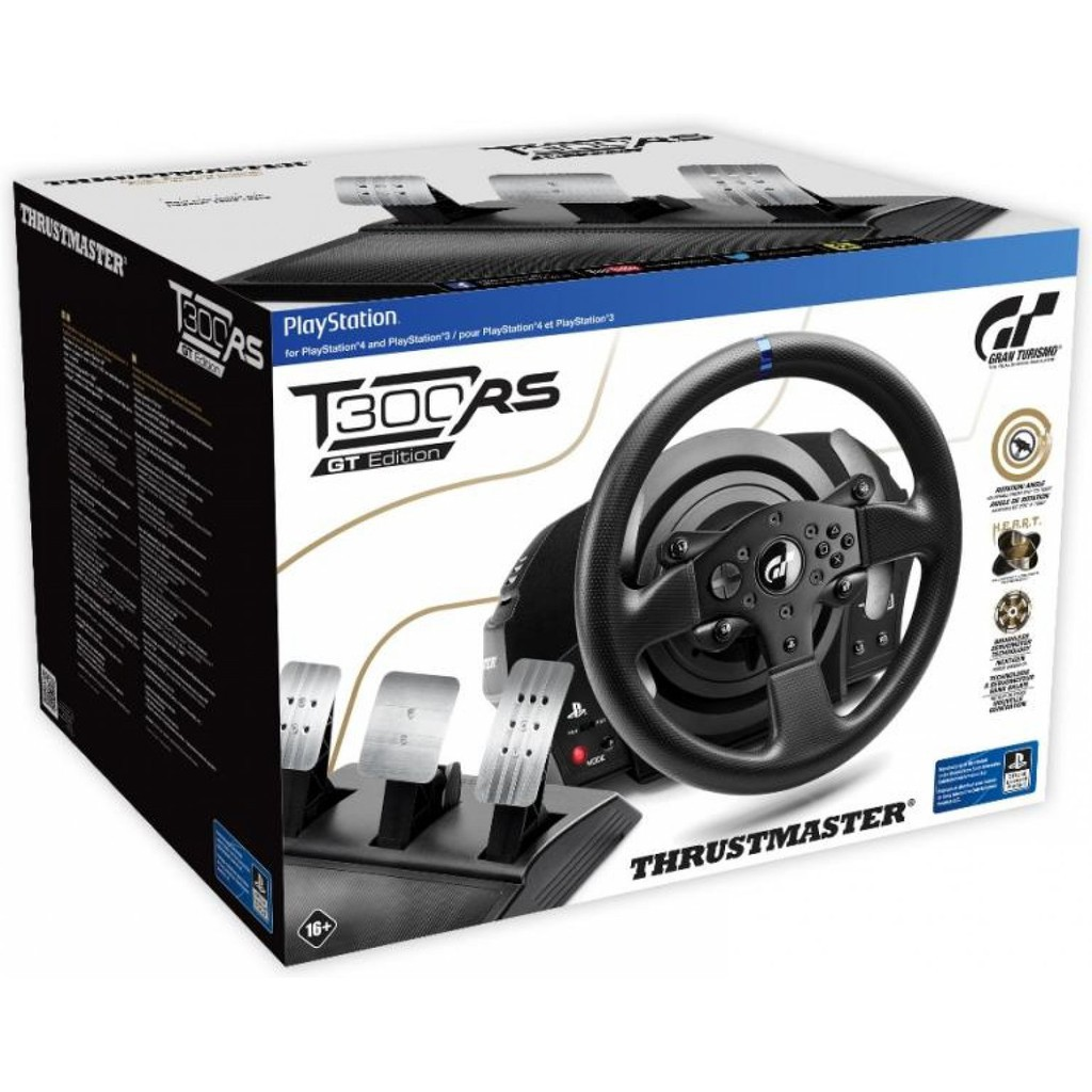 Thrustmaster T300 RS GT PS3/PS4 AND PC READY STOCK (1YEAR WARRANTY)