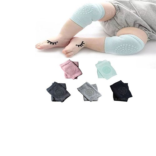 Ladiy Baby Kids Knee Pads Crawling Anti-Slip Safety Elbow Support Cushion Warmer Socks