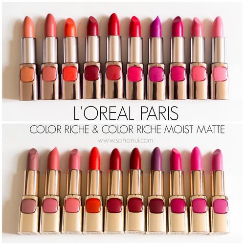 Loreal Paris Color Riche Moist Matte Lipstick Shopee Malaysia