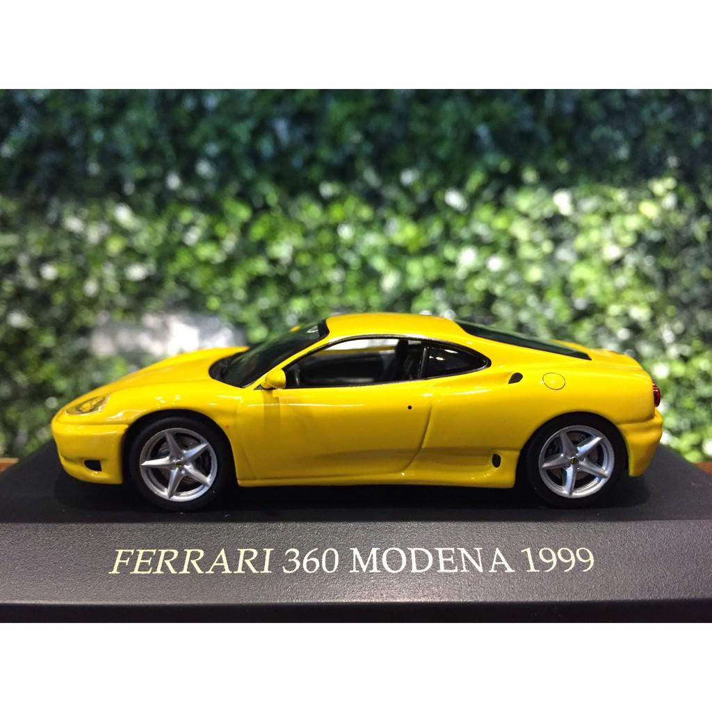 1 43 Ixo Ferrari 360 Modern 1999 Yellow Mgm 1 43 Ixo Ferrari 360 Modena 199 Yellow Mgm Shopee Malaysia