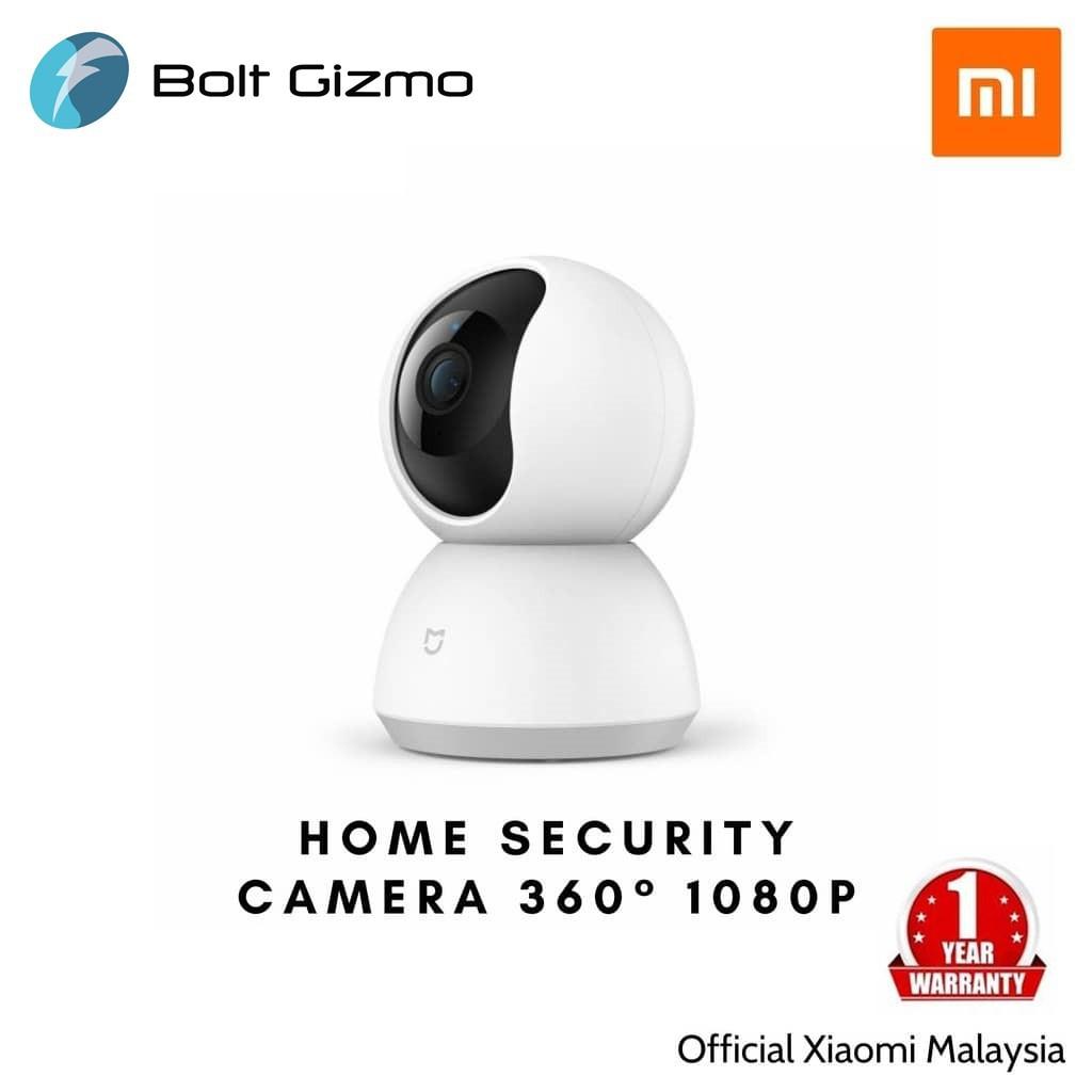 Xiaomi Mi Home Security Camera 360˚ 1080P - (Warranty by Xiaomi M'sia)