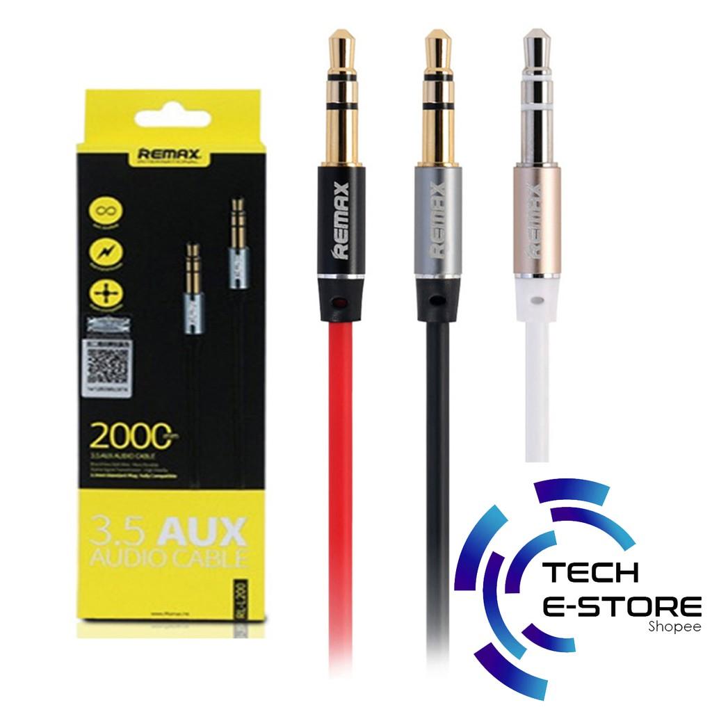 Remax Kabel Aux 2 Meter Audio Sharing 35mm Daftar Harga Terbaru Cable Rl 20s L100 L200 1
