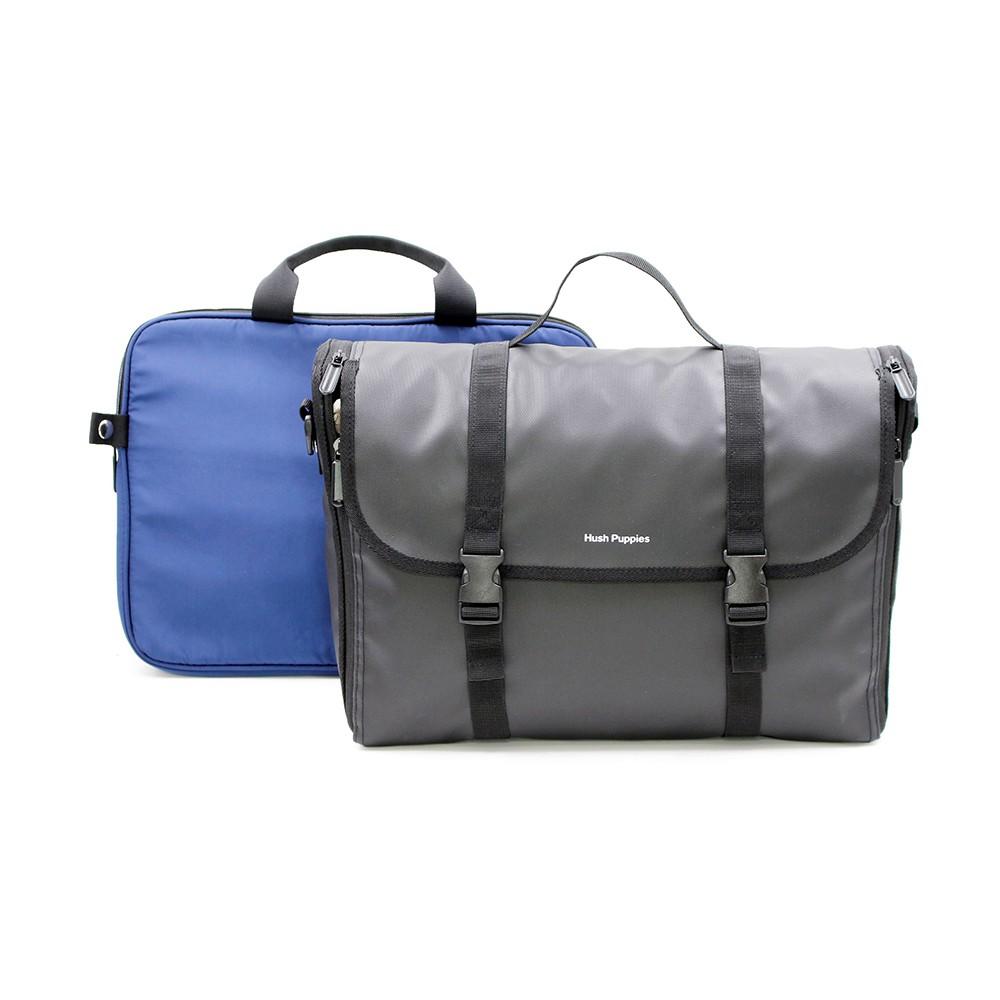 Hush Puppies Men's Bag - NEILSON MESSENGER BAG HPE50173BK