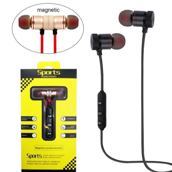 SQ-BT700 Sports Wireless Bluetooth Headphone Waterproof Magnet Attraction  On Off  b0bb78d0a4