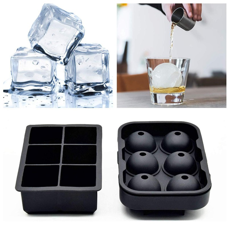 Silicone 160-Cavity Square Ice Cube Tray Ice Maker Mold Wiskey Square Ice Tray Y