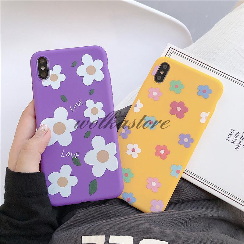 Oppo A3s A37 F9 F5 F1s A83 A57 Fresh Flower Soft Case For Vivo Y71 V5 V5s V9