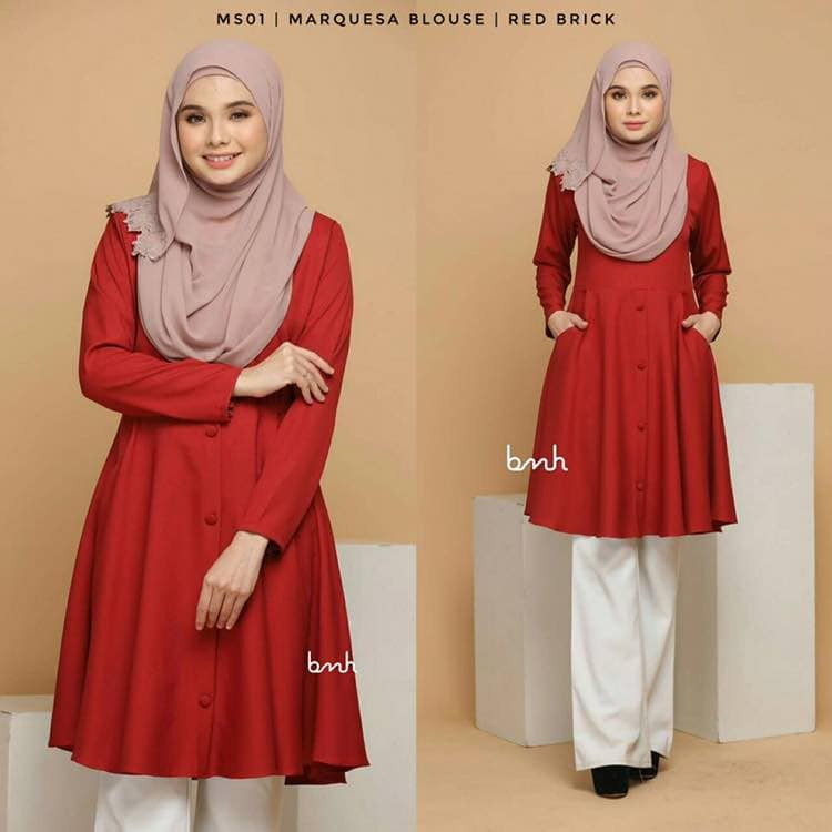 Buy Muslimah Blouse Online - Muslim Fashion  11b5b9ea5c