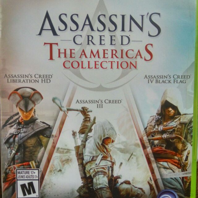 Xbox 360 Assassin Creed The America Collection Shopee Malaysia