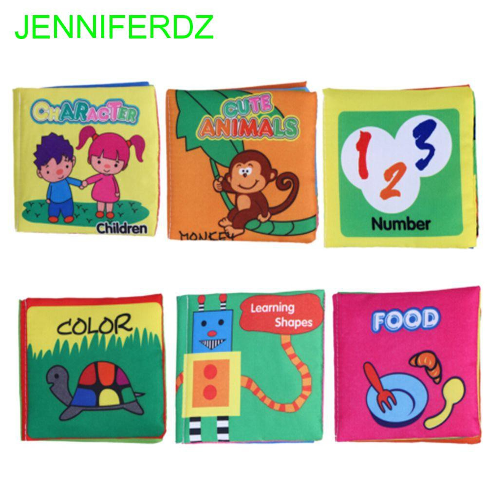 Educational Intelligence Development Soft Cloth Cognize Book Toy For Kids Bab UL