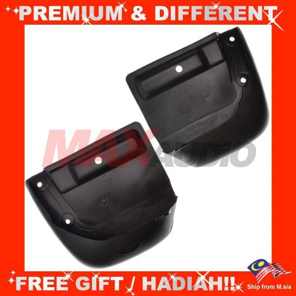 [FREE Gift] [CLEARANCE] PERODUA KENARI Mudflaps Front Rear Fender Splash Mudguard Mud Guards (Pair)