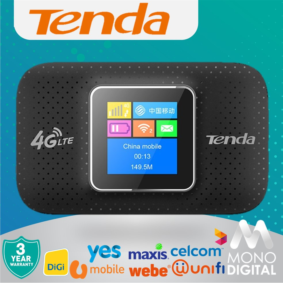 TENDA 4G185 4G LTE Advanced Portable Wireless WiFi Modem Router MiFi Webe  YES UniFi Mobile Umobile (4G185)