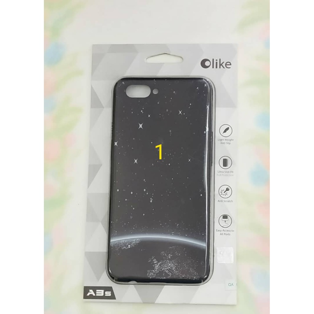 100% authentic 14e74 a363f Oppo A3s Olike Case
