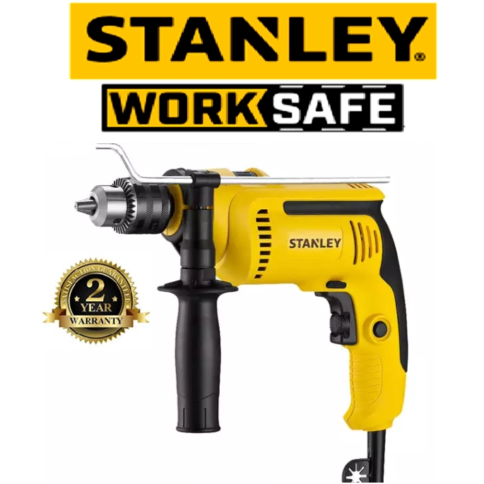 STANLEY SDH700KV-XD PERCUSSION DRILL 13MM 650W HAMMER DRILL VALUE PACK ( SDH700 , SDH700KV ) EASY USE SAFETY GOOD