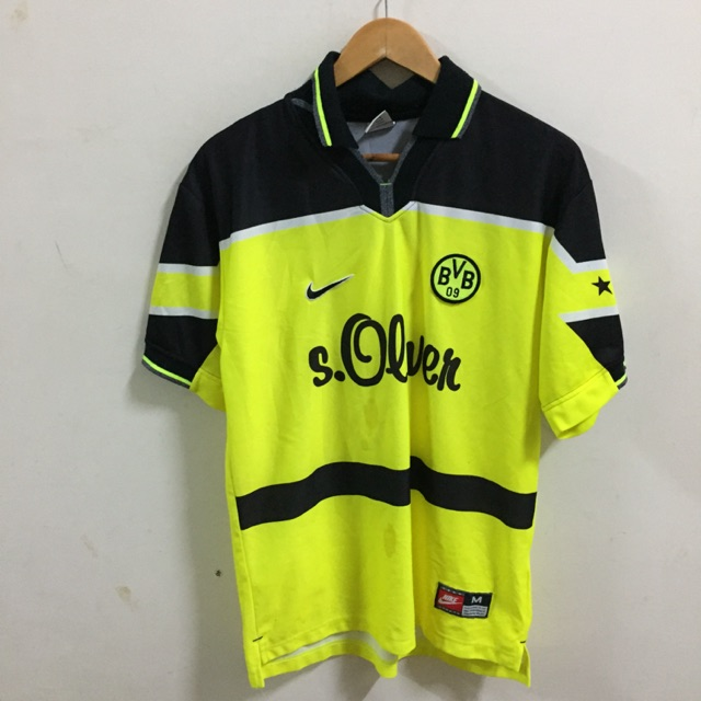 Oficial empieza la acción Peaje  Vintage Nike Borussia Dortmund Jersey Shirt Size M Made In UK | Shopee  Malaysia