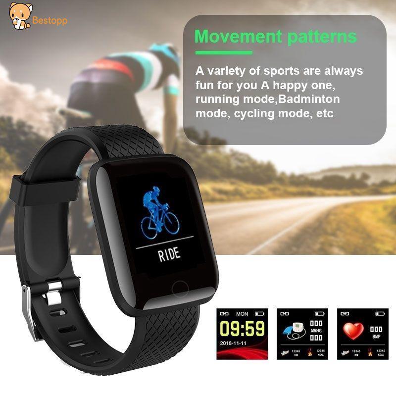 【BT】⌚⌚ Bluetooth Smart Sport Bracelet Waterproof Fitness Tracker Smart  Wristband best