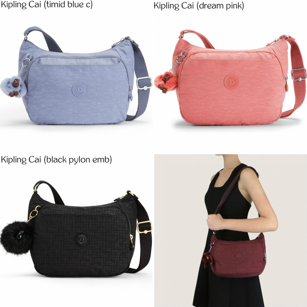 NWT Original Kipling Silen Shoulder Bag Sling Bag Crossbody Bag Travel Bag   dd12bdec3d