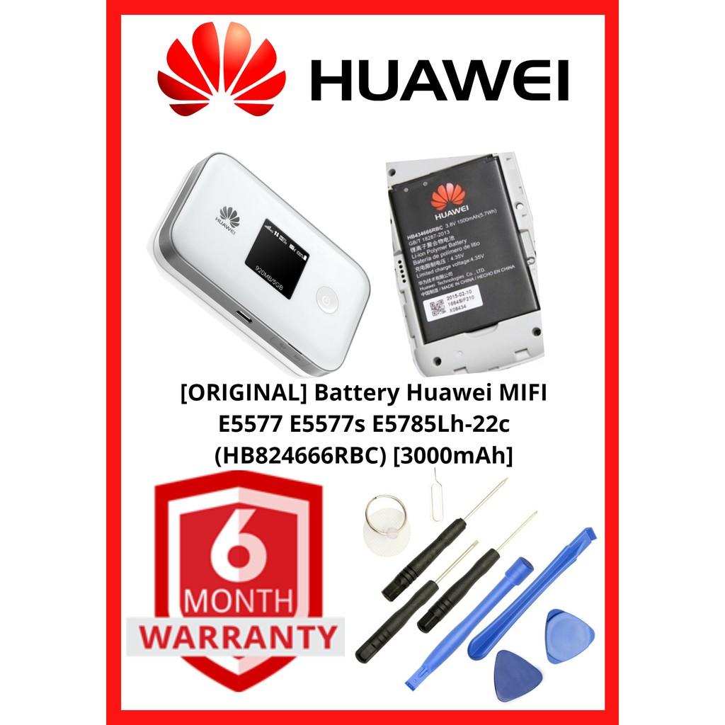 [ORIGINAL] Battery Huawei MIFI E5577 E5577s E5785Lh-22c (HB824666RBC)  [3000mAh]