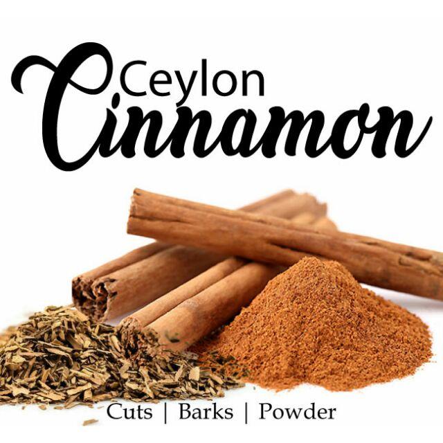 Ceylon Cinnamon Organic 100g Pack/Kayu Manis Ceylon Sri Lanka Asli
