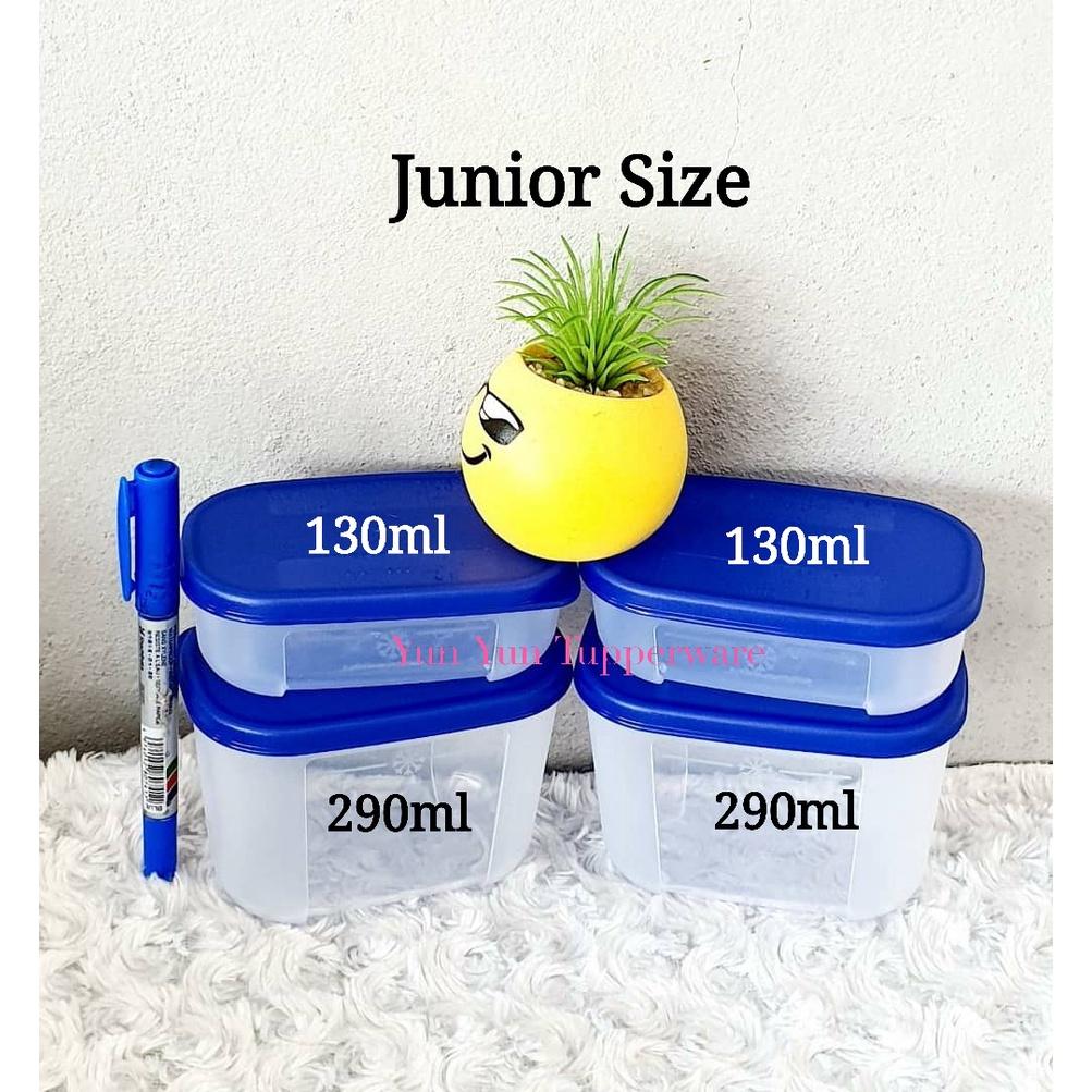 Tupperware FreezerMate Junior Set (4 PCS) 130ml (2) + 290ml (2)
