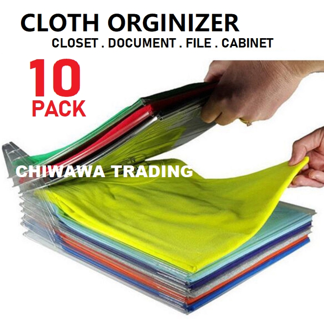 EZSTAX Storage Folding Board Document File Clothes Cloth Rack Drawer Desk Closet Cabinet Fast Organizer System