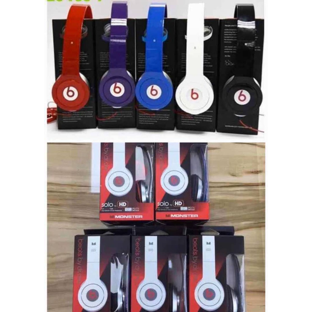 Good Sound New Beats Solo Wired Headphone Ready Stock Shopee Malaysia