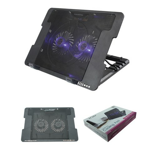 ICUTE ICC20 ADJUSTABLE NOTEBOOK COOLER PAD LAPTOP COOLING PAD