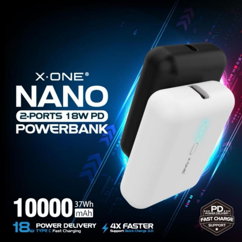 X-ONE Nano Powerbank Arrived! Smaller than your credit card! MINI Power bank
