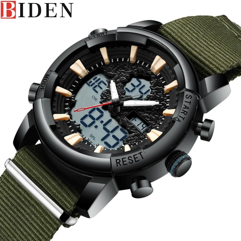 BIDEN Men's Digital Watch 0155