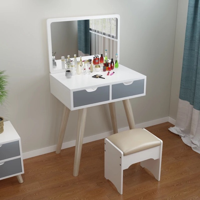 60cm Width Dressing Table Chair And