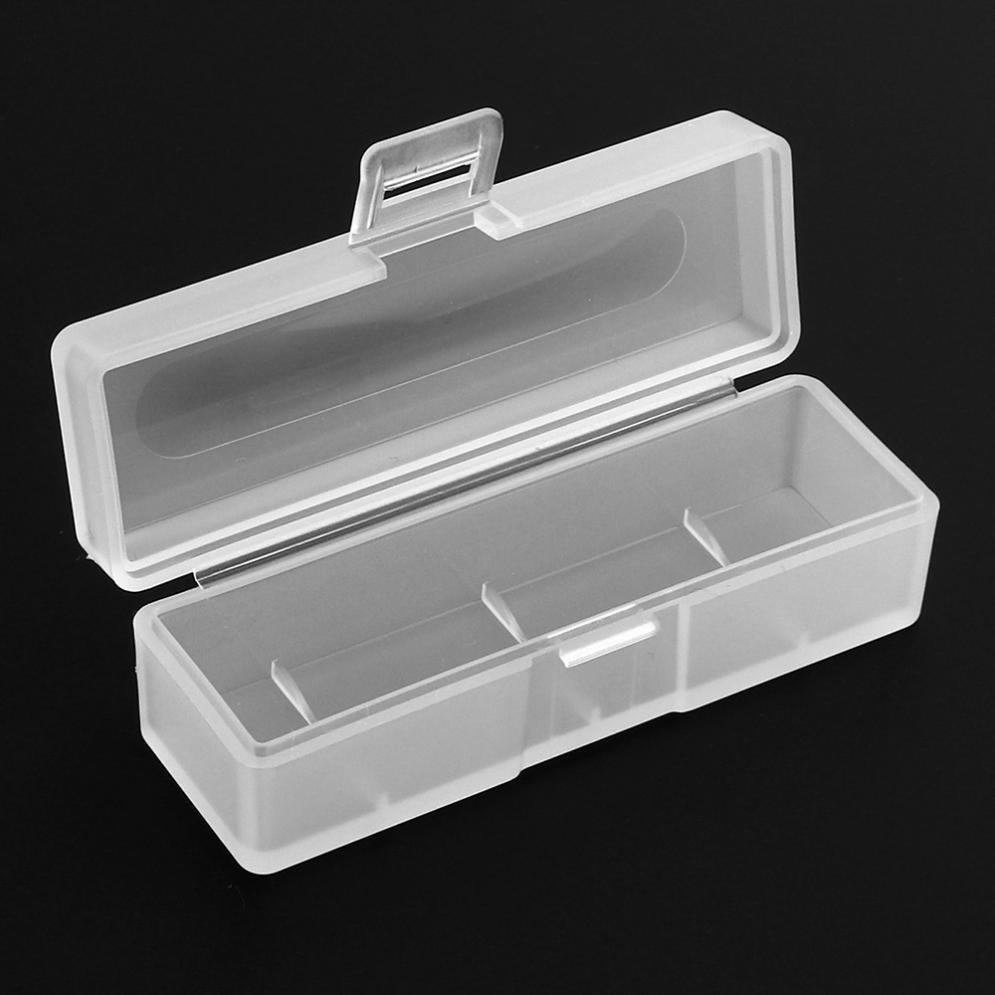 กล่องพลาสติกแบตเตอรี่ลิเธียมสำหรับ 18650 Ba