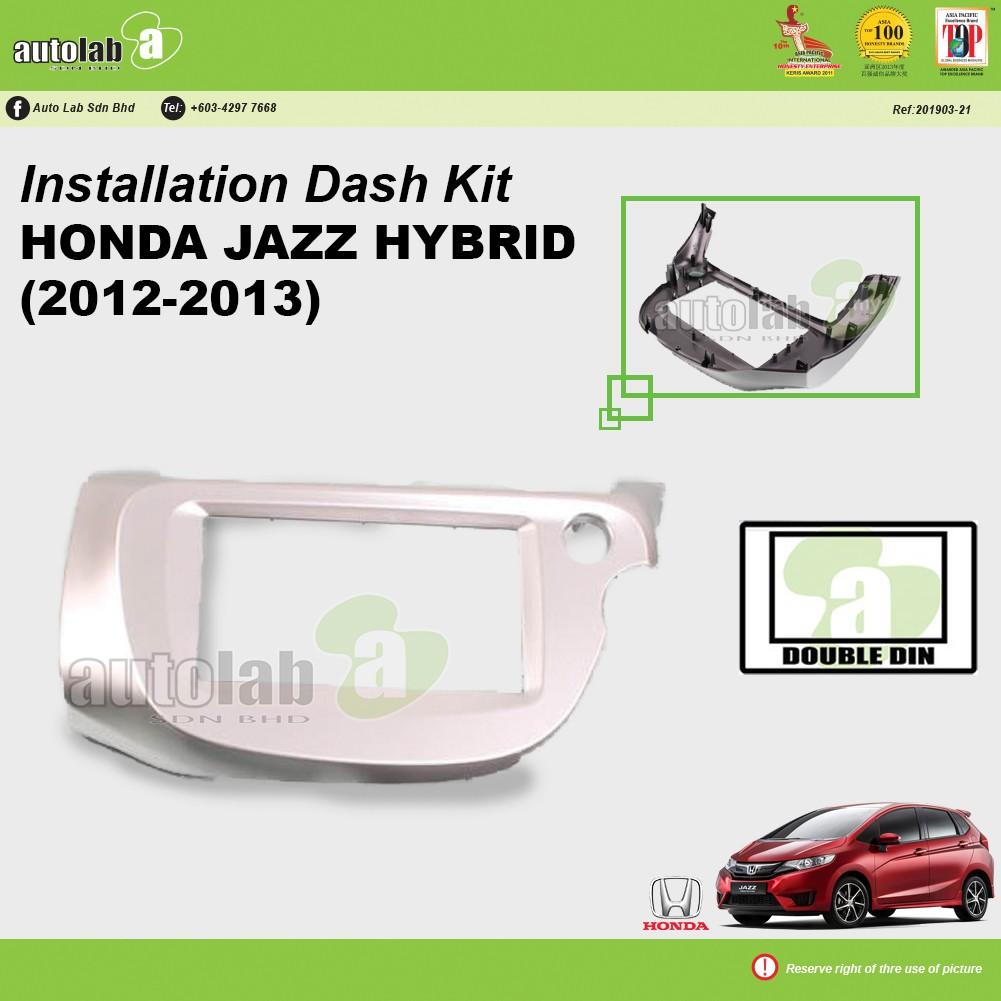 Player Casing Double Din Honda Jazz Hybrid 2012-2013