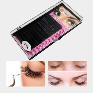 a50def2ef92 Trays Single Lashes C D Curl 0.07mm 8~14mm Individual False Eyelashes  Extension | Shopee Malaysia
