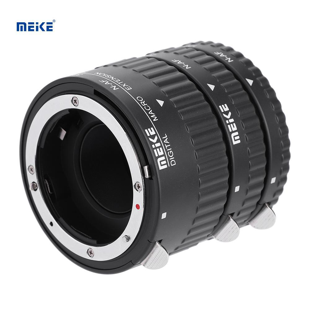 Auto Focus Macro Extension Tube Lens Adapter Ring 10mm+16mm for Sony E Mount Camera Mugast Camera Lens Adapter Ring
