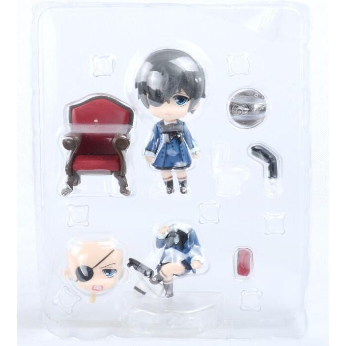 Black butler kuroshitsuji ciel phantomhive nendoroid pvc figurine toy model