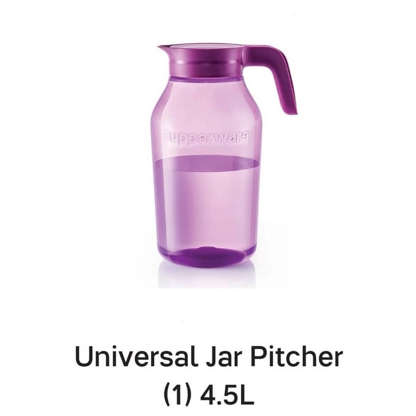TUPPERWARE UNIVERSAL JAR PITCHER 4.5L