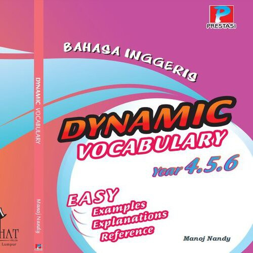 Bahasa Inggeris Dinamik Vocabulary English Easy Explanations Year 4,5 & 6 UPSR NEW 2020 (READY STOCK)