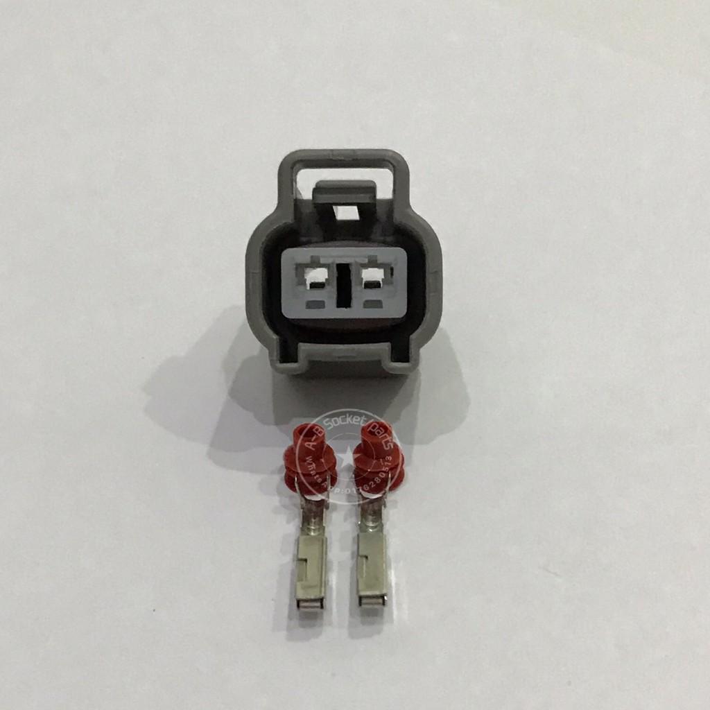 2 Pin Toyota Nippon Denso Automotive Sensor Socket Connector